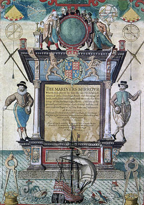 Mariners Mirror, 1588 Poster by Granger
