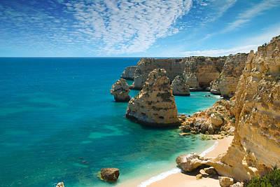 Marinha Cove Algarve Portugal Poster
