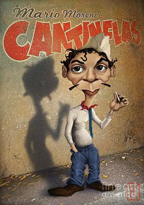 Mario Moreno Poster