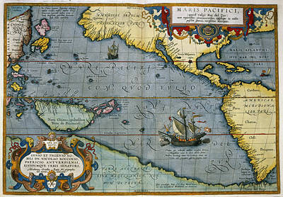 Maris Pacifici Poster by British Library