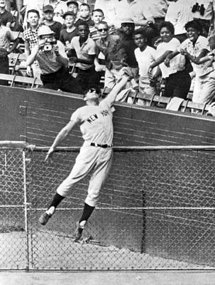 Maris Steals A Home Run Poster by Underwood Archives