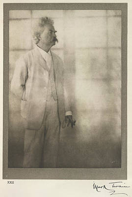 Mark Twain Poster by British Library