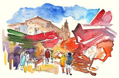 Market In Palermo 01 Poster by Miki De Goodaboom