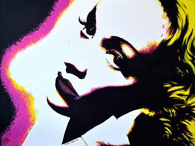 Marlene Poster by Victor Minca