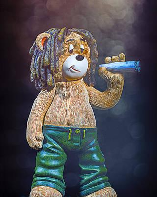 Marley Bear Poster by Bill Tiepelman