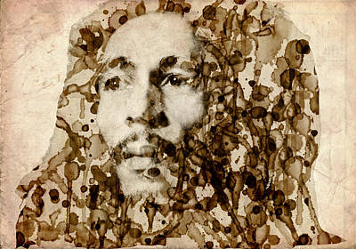 Marley In Sepia Poster by Bekim Art