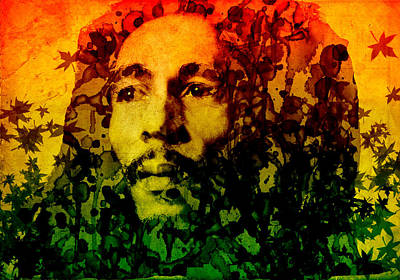 Marley Poster by Bekim Art