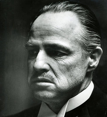 Marlon Brando Close Up Poster by Retro Images Archive