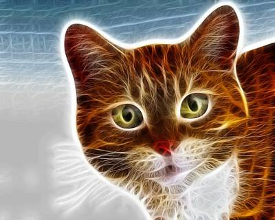 Marmalade Kitty Poster by Lilia D