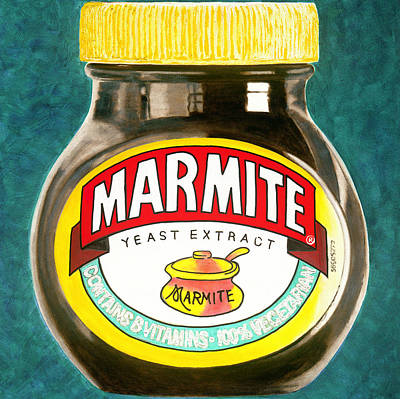 Marmite Poster by Barry Novis