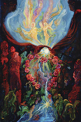 Marriage Of Heaven And Earth Poster by Shari Silvey