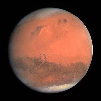 Mars Poster by Esa,mps For Osiris Team Mps/upd/ Lam/iaa/ Rssd/ Inta/ Upm/ Dasp/ Ida