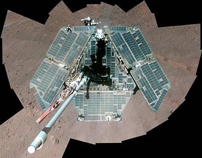 Mars Rover Opportunity Poster by Nasa/jpl-caltech/cornell University/arizona State University