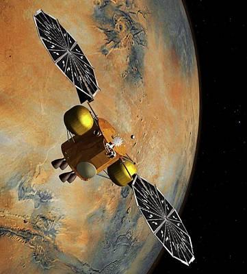 Mars Sample Return Mission Poster by Nasa/jpl-caltech
