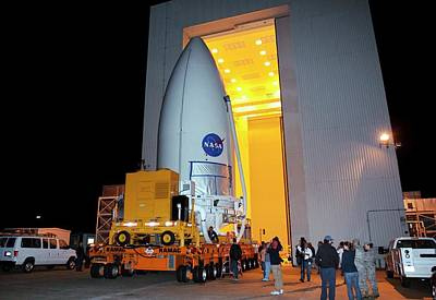 Mars Science Laboratory Spacecraft Poster