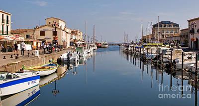 Marseillan Harbour Poster