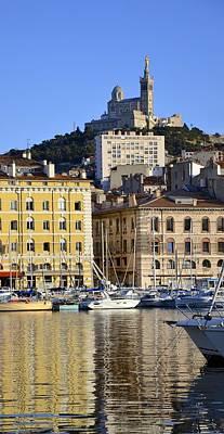 Marseille Poster by Corinne Rhode