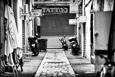 Marseille Tattoo Poster