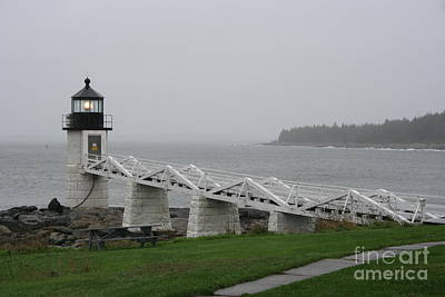 Marshall Point Light Station - Maine Poster by Christiane Schulze Art And Photography