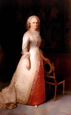 Martha Custis Washington Poster