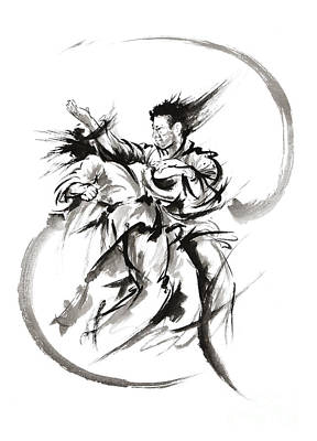 Martial Arts Poster. Poster by Mariusz Szmerdt