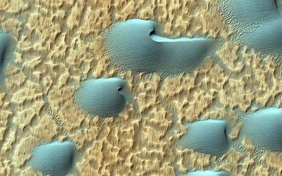 Martian Sand Dunes Poster by Nasa