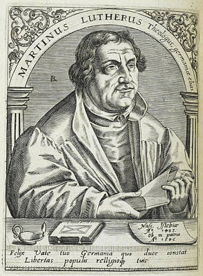 Martin Luther Poster by British Library