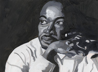 Martin Luther King Jr. Poster by Isaac Walker