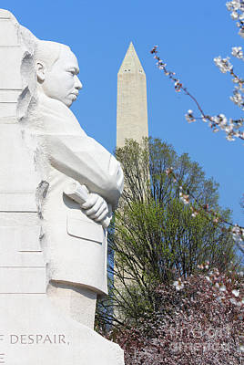 Martin Luther King Memorial 1101 Poster