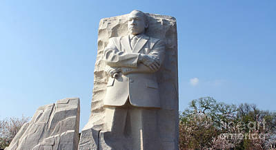 Martin Luther King Memorial 1108 Poster