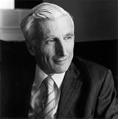 Martin Rees Poster by Lucinda Douglas-menzies