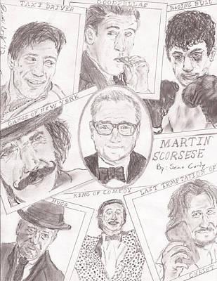 Martin Scorsese Poster by Sean Cordy