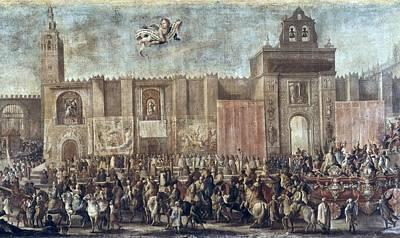Martinez, Domingo 1688-1749. Chariot Poster by Everett