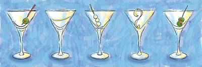 Martini Lunch Poster