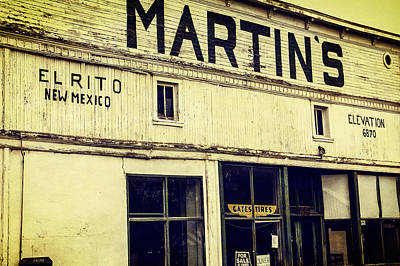 Martins General Store Poster by Steven Bateson