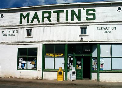 Martin's Poster