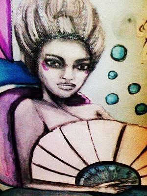 Mary Antoinette The Mermaid Poster