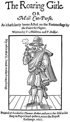 Mary Frith (1585?-1660) Poster by Granger