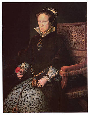 Mary I Queen Of England Poster by Antonis Mor