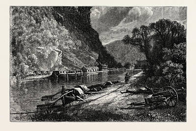 Maryland Heights, Harpers Ferry, United States Of America Poster