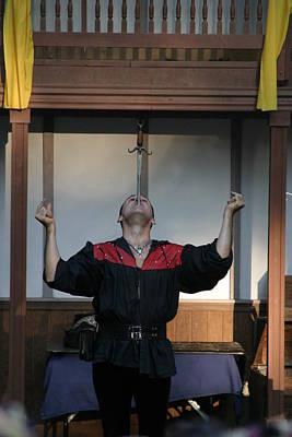 Maryland Renaissance Festival - Johnny Fox Sword Swallower - 1212115 Poster