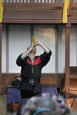 Maryland Renaissance Festival - Johnny Fox Sword Swallower - 1212125 Poster by DC Photographer