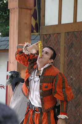 Maryland Renaissance Festival - Johnny Fox Sword Swallower - 121251 Poster