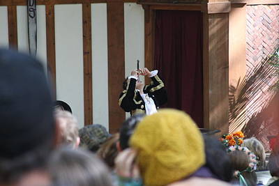 Maryland Renaissance Festival - Johnny Fox Sword Swallower - 121256 Poster by DC Photographer