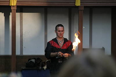 Maryland Renaissance Festival - Johnny Fox Sword Swallower - 121283 Poster