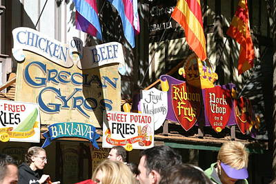 Maryland Renaissance Festival - Merchants - 121228 Poster by DC Photographer