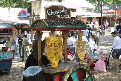 Maryland Renaissance Festival - Merchants - 121262 Poster by DC Photographer