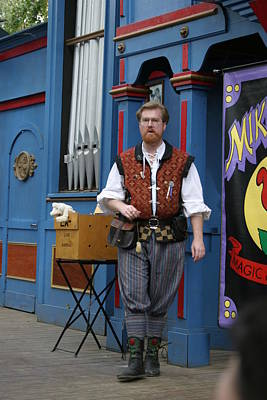 Maryland Renaissance Festival - Mike Rose - 12126 Poster by DC Photographer