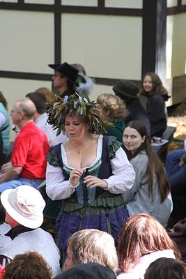 Maryland Renaissance Festival - People - 121243 Poster by DC Photographer