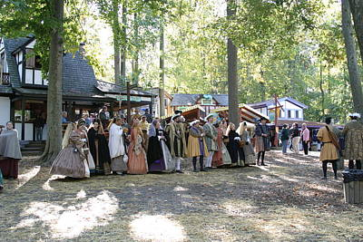Maryland Renaissance Festival - People - 12125 Poster